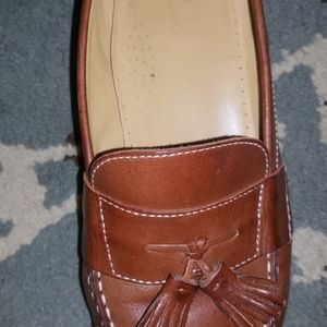 Cole Haan Shoes - tan leather loafers size 10